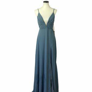 NWD Lulu's Maxi Dress Side Slit Bridesmaid #156